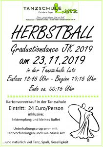 Herbstball 2019 Flyer