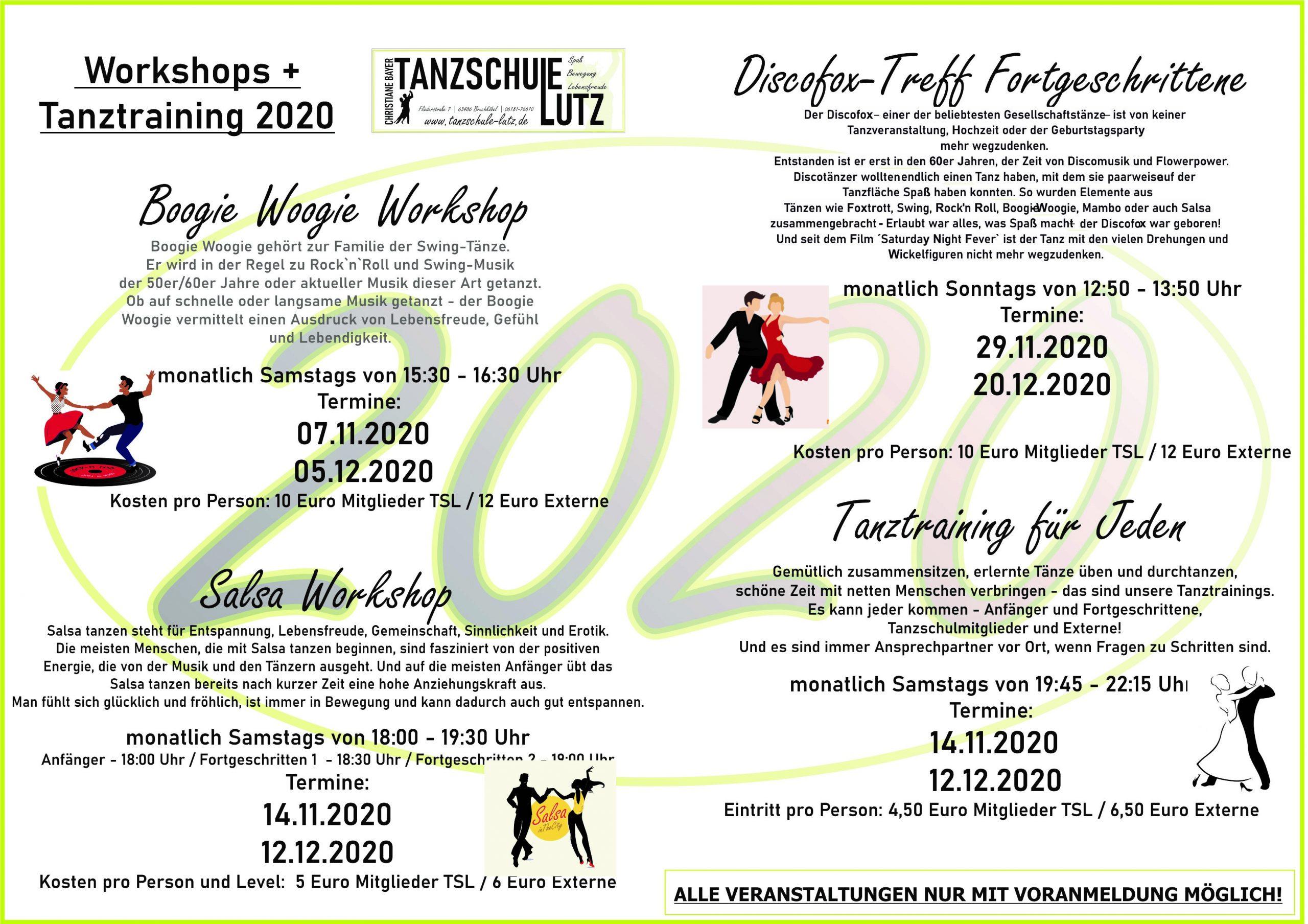 Flyer TT, Salsa, DFOX, Boogie 11+12- 2020
