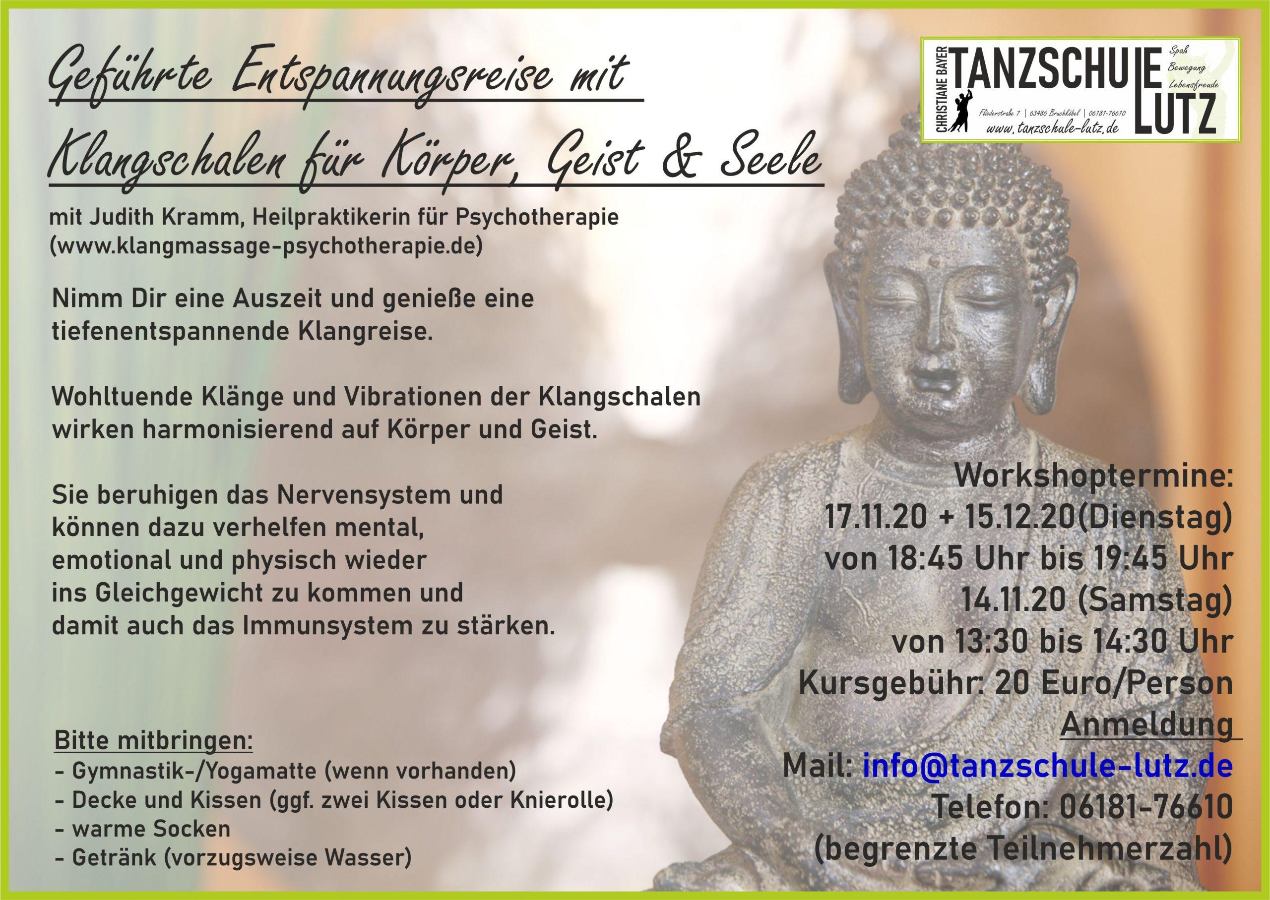 Klangschalenmeditation 11+12-2020