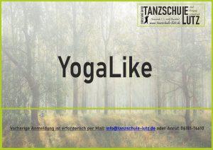 YogaLike Flyer 2020 Blanko